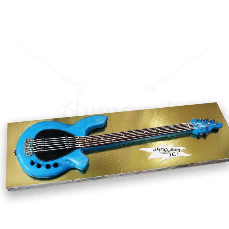 Tort chitara albastra