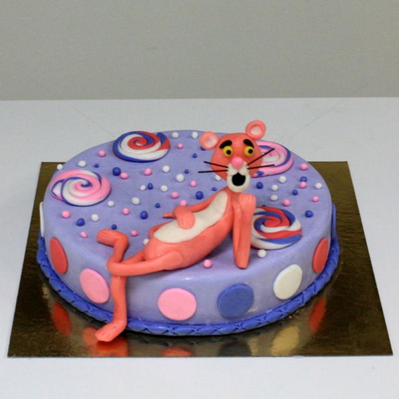 Tort Pantera roz si acadele