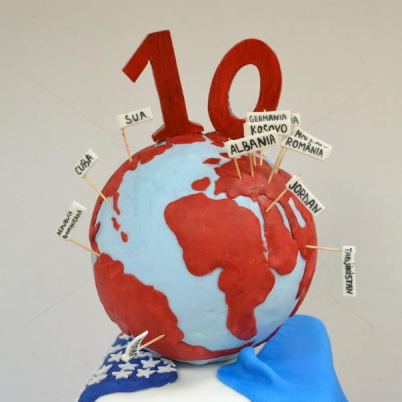 Tort Corporate Glob pamantesc