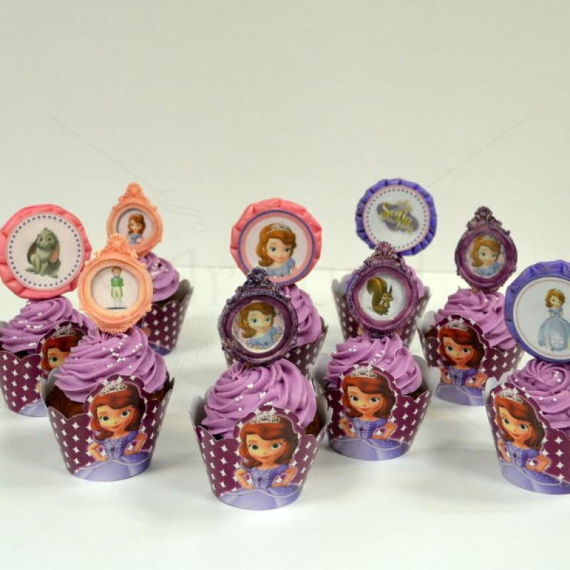 Cupcake printesa Sofia
