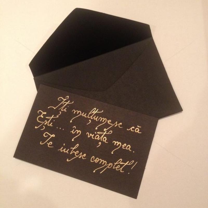 Scrisoare neagra in plic