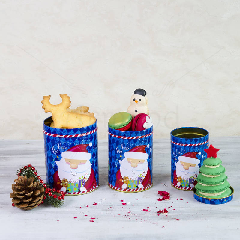 Pachet Cutii dulciuri Mos Nicolae