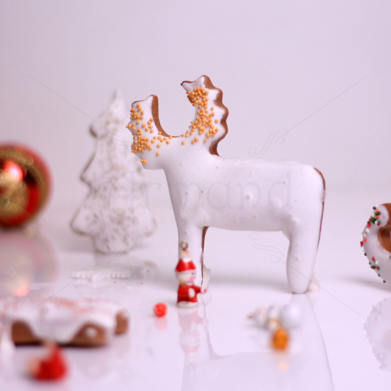 Turta dulce figurine Craciun