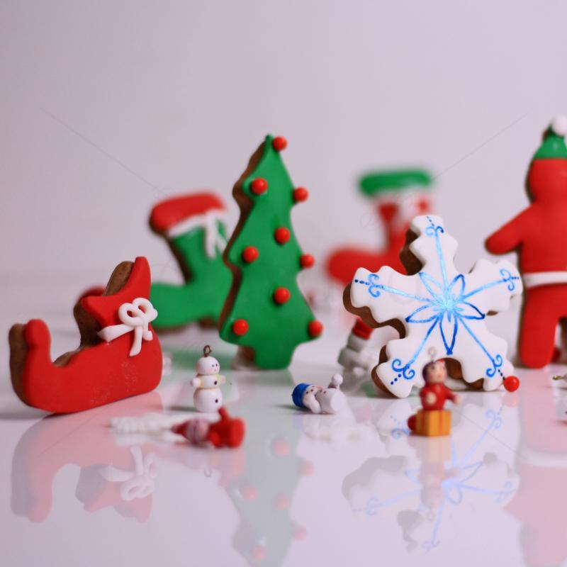 Biscuiti Figurine personalizate Craciun