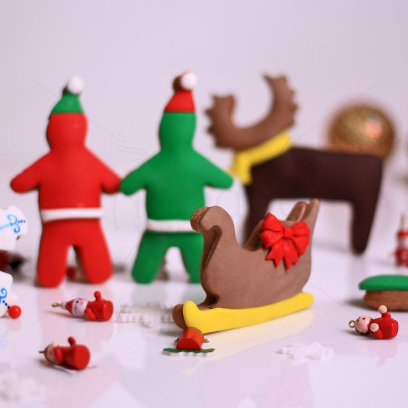 Turta dulce figurine personalizate Craciun