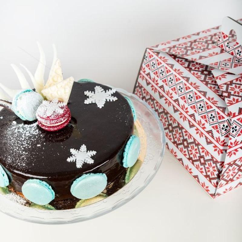 Pachet Tort Trois Mousse editia de Craciun