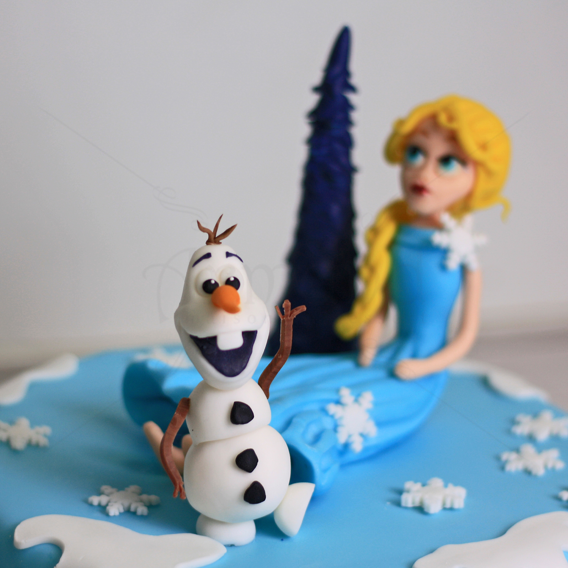 Tort Olaf si Elsa