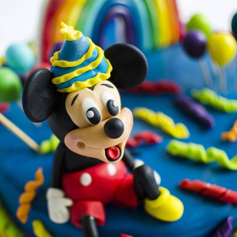 Tort Mickey si Pluto