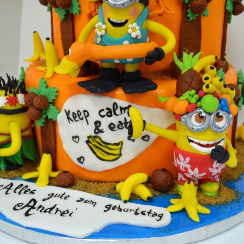 Tort Minions si Banane