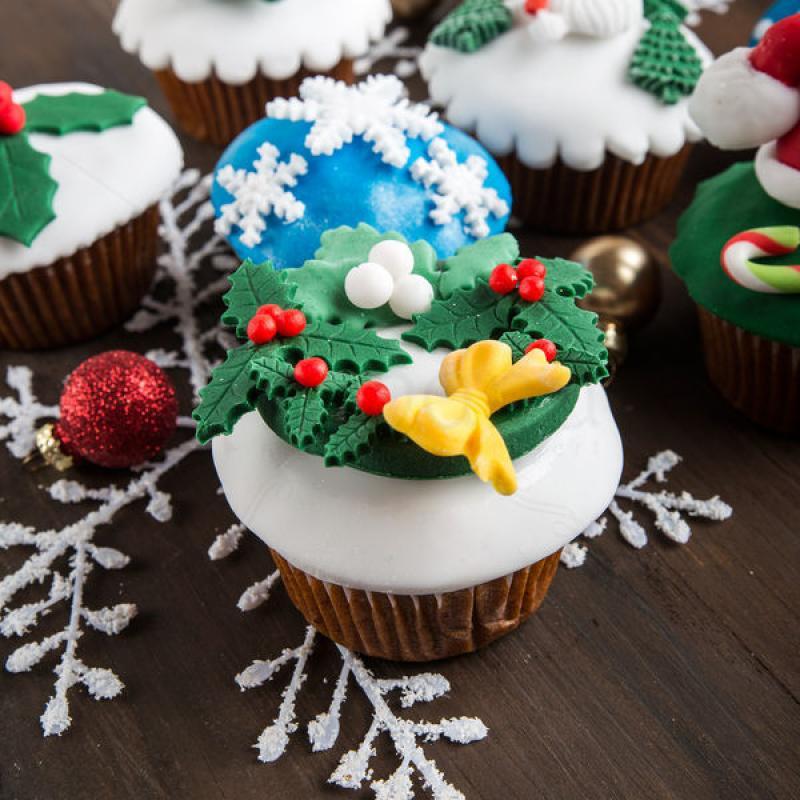 Colectia cupcakes Sania lui Mos Craciun