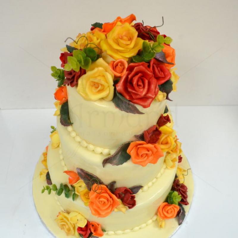 Tort Trandafiri tomnatici