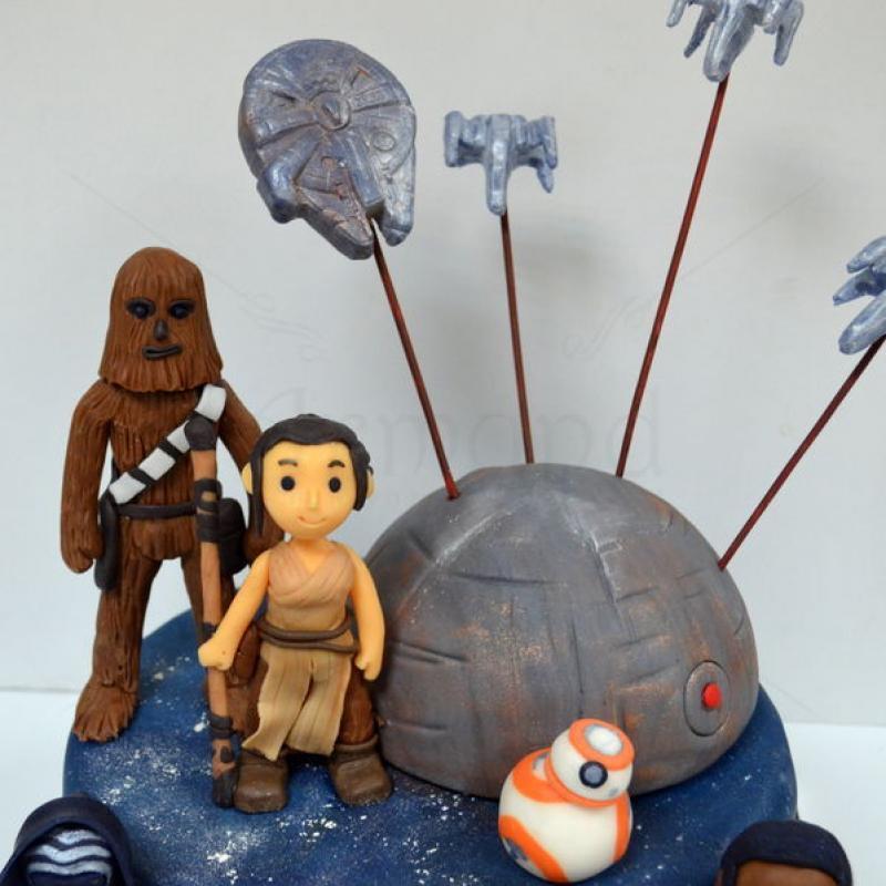 Tort Star Wars Trezirea Fortei