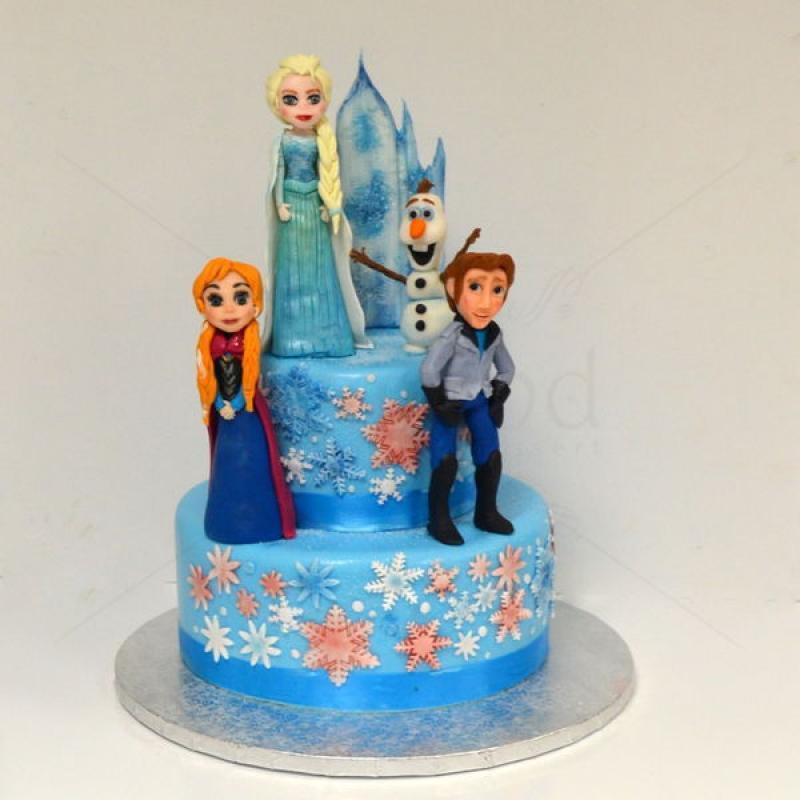 Tort Figurine Regatul de gheata