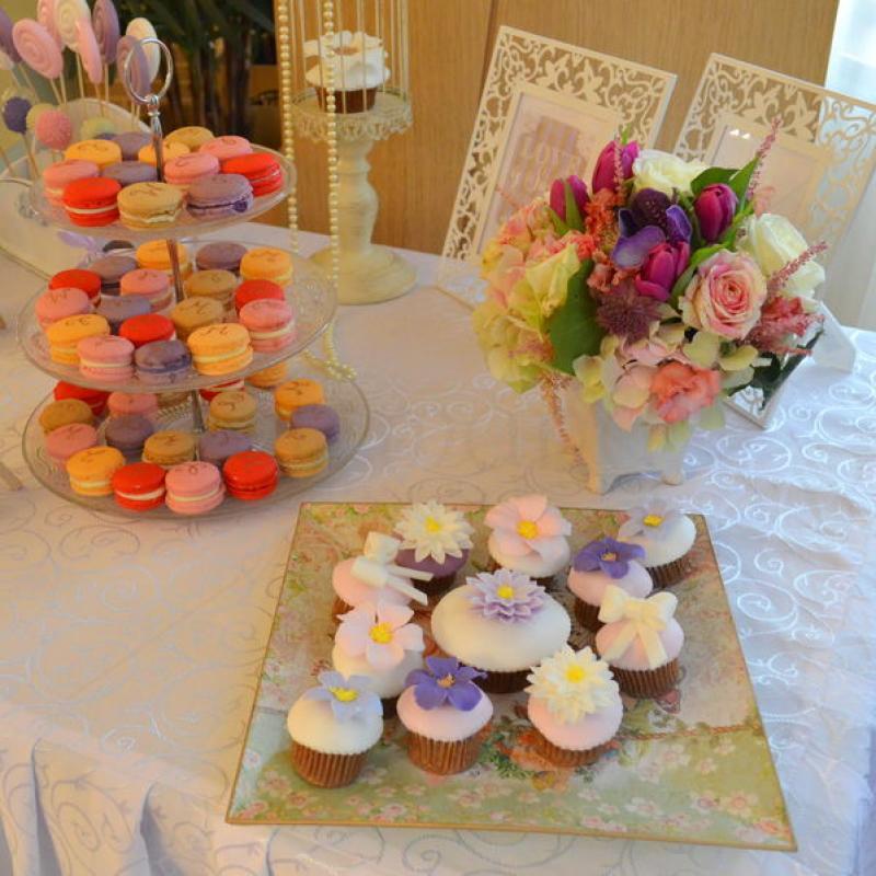 Candy bar Cununie culori pastelate