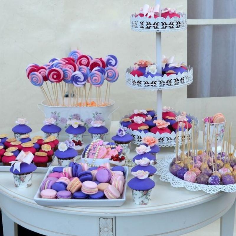 Cake Pops Roz Mov Aurii