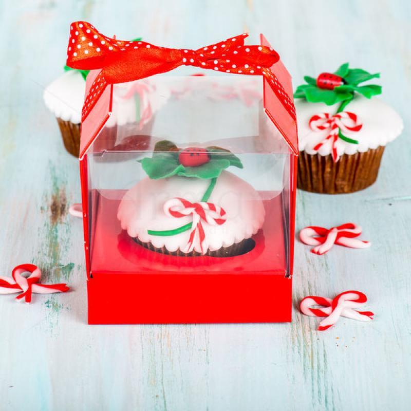 Cupcake Trifoi martisor