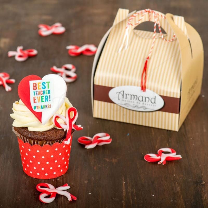 Cupcake Martisor Invatatoare/Profesoara
