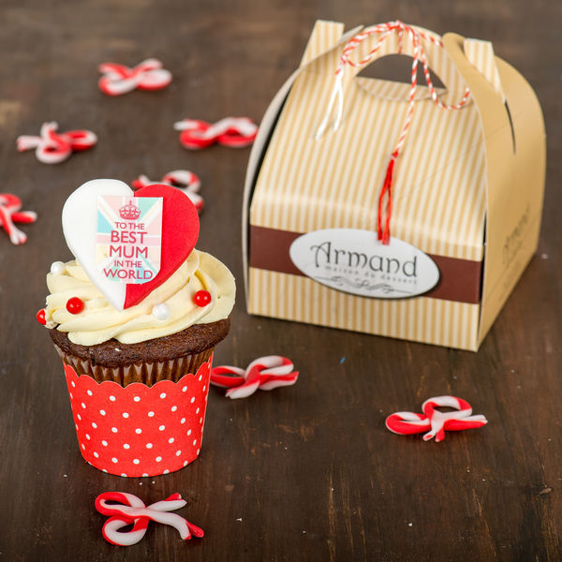 Cupcake Cea mai buna mama