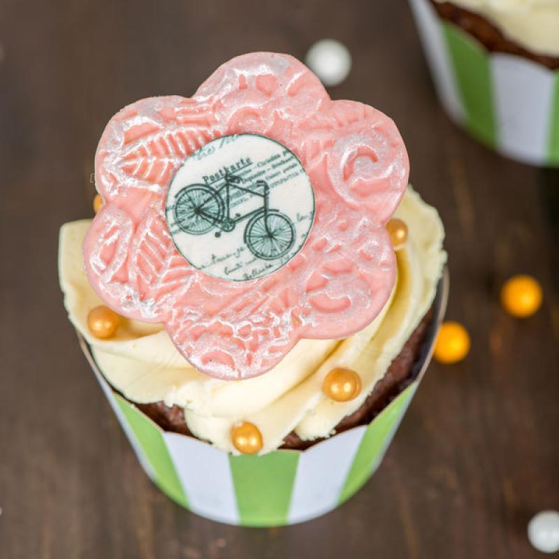 Cupcake Biciclete elegante