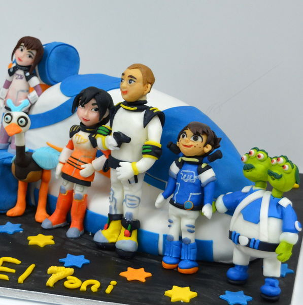 Tort Miles from Tomorrowland (in spatiu)