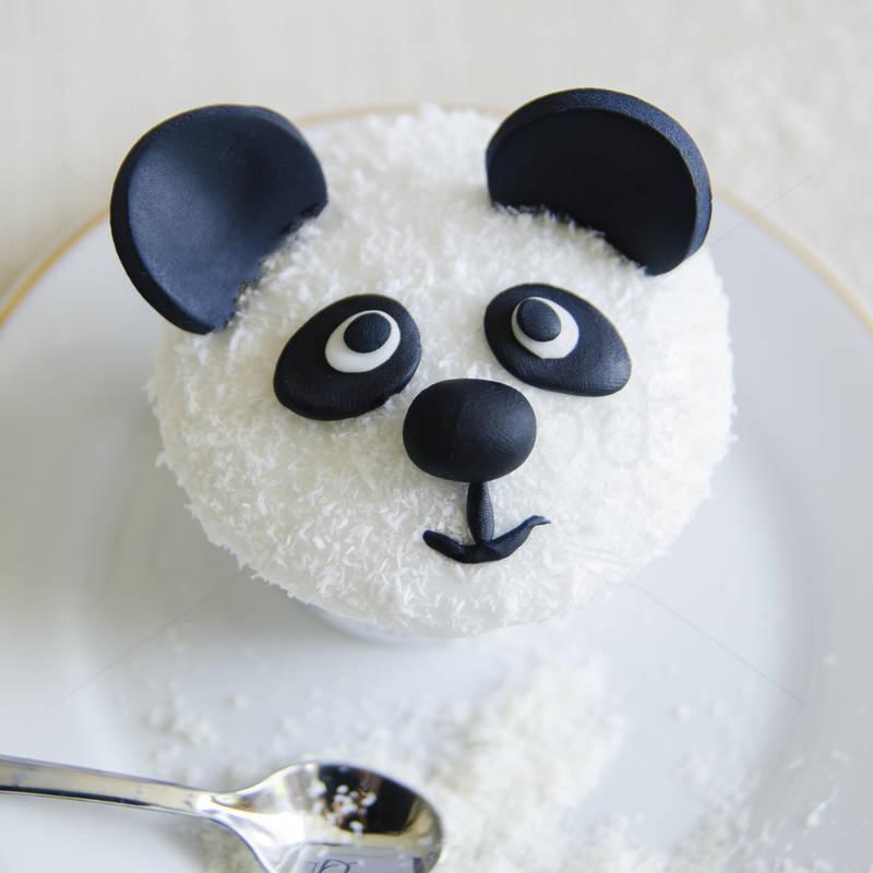 Cupcakes Ursuleti Panda