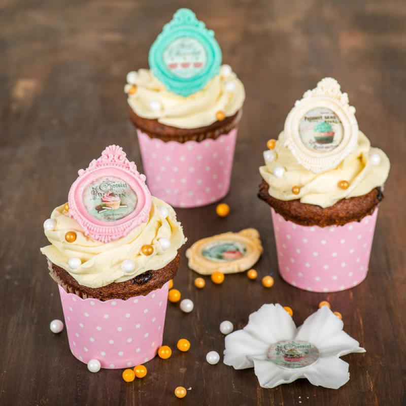 Cupcake Rama eleganta