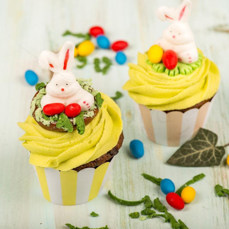Cupcake Iepuras vesel