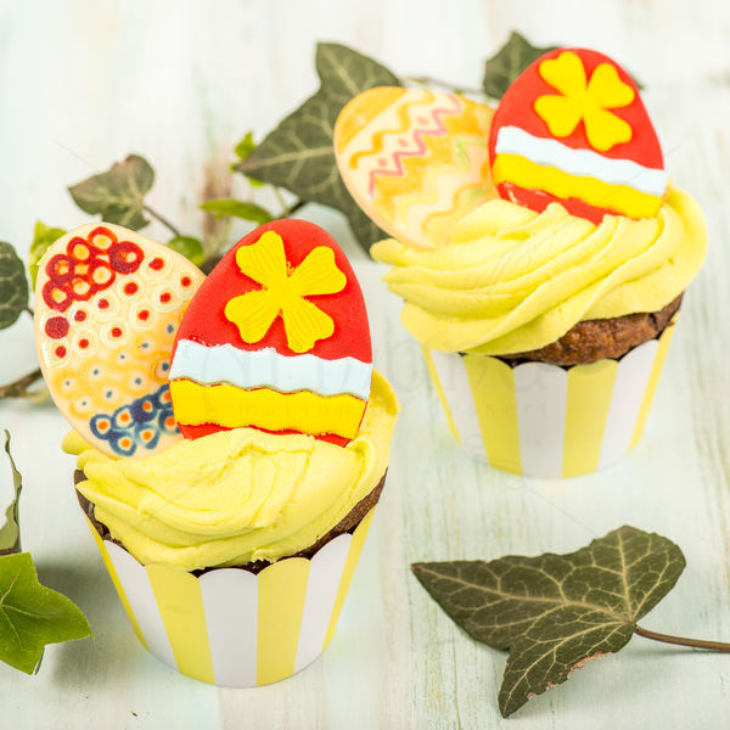 Cupcake Oua incondeiate de Paste