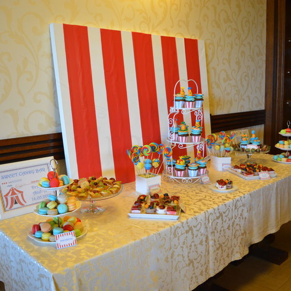 Candy Bar Tematica Circ
