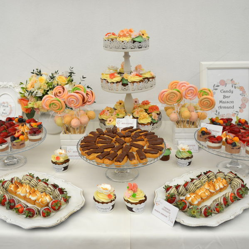 Candy Bar nunta Flori de primavara