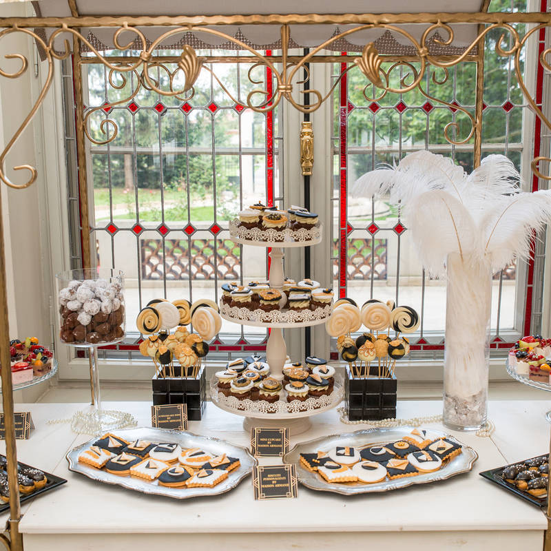 Candy Bar luxury tematica Great Gatsby