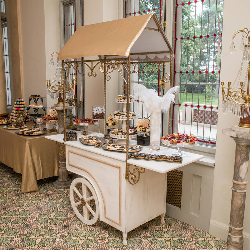 Candy Bar luxury tematica Great Gatsby