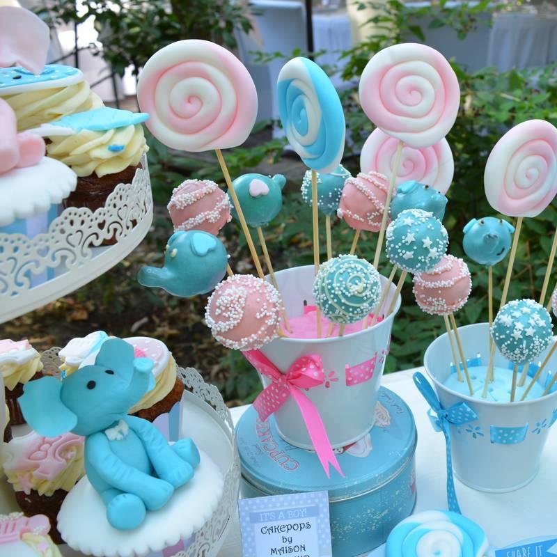 Candy Bar Gemeni - tematica Elefantei