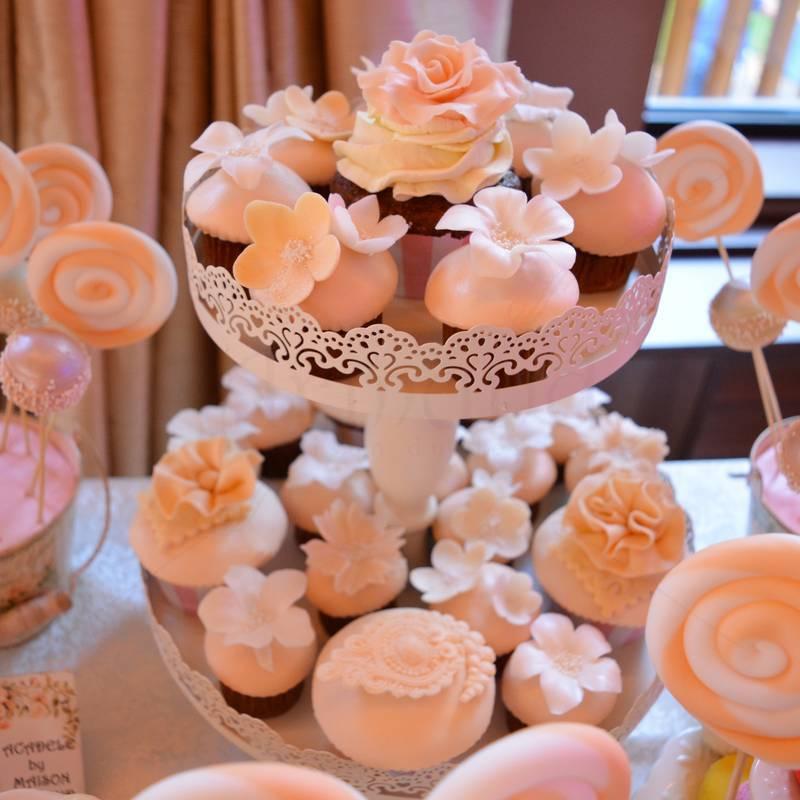 Candy bar Peach & Ivory