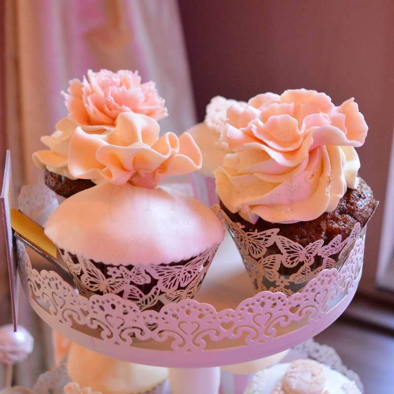Candy bar Peach & Ivory