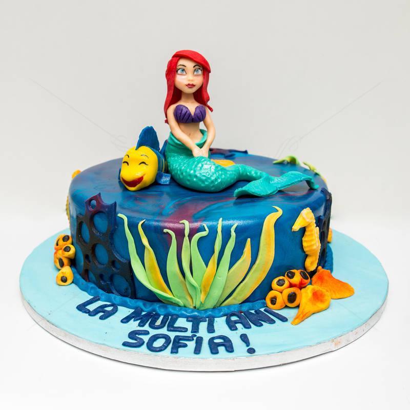 Tort Mica Sirena si pestisorul