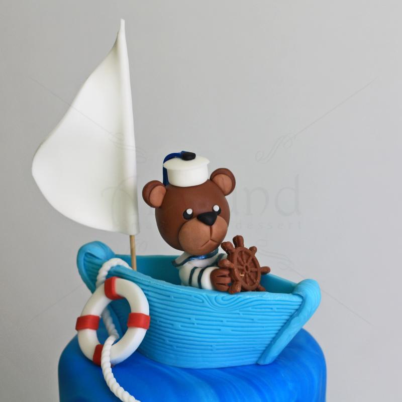 Tort Botez Ursulet marinar