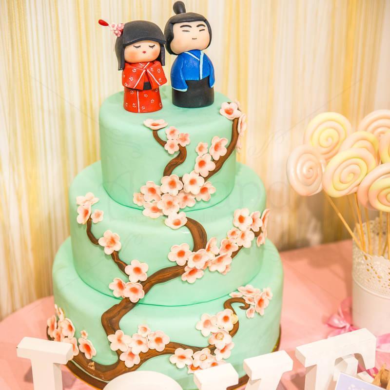 Tort nunta Micutii Japonezi
