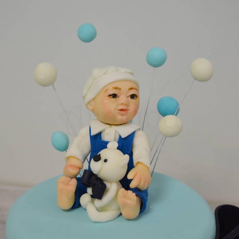 Tort botez Figurina baietel