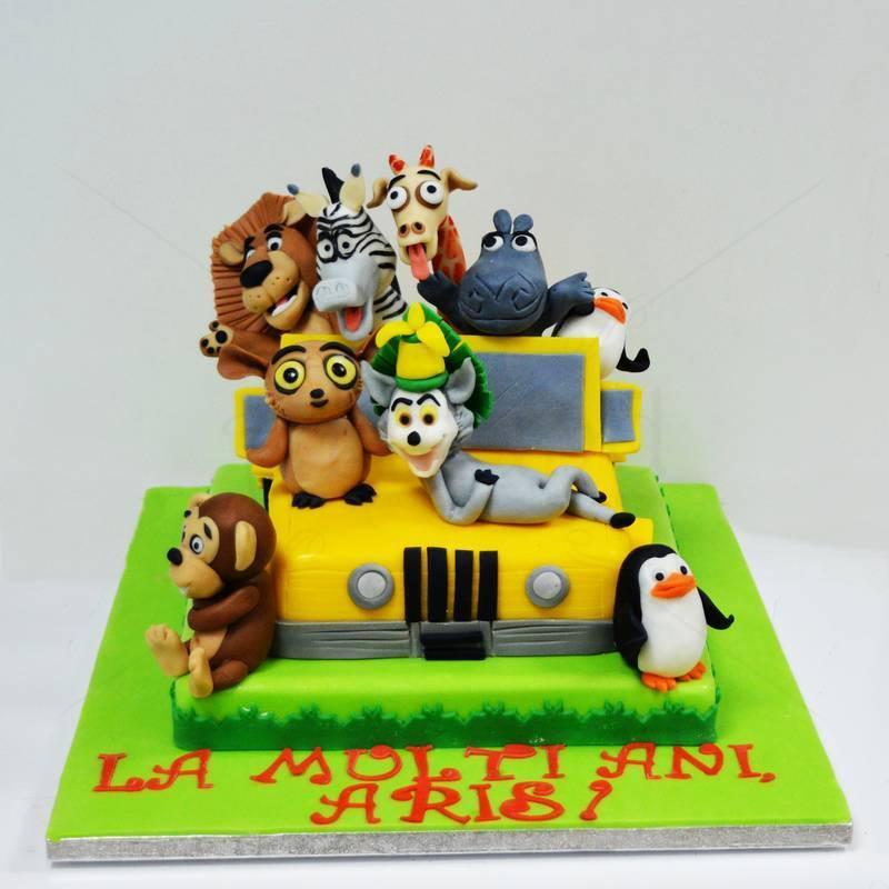 Tort Masina personaje Madagascar
