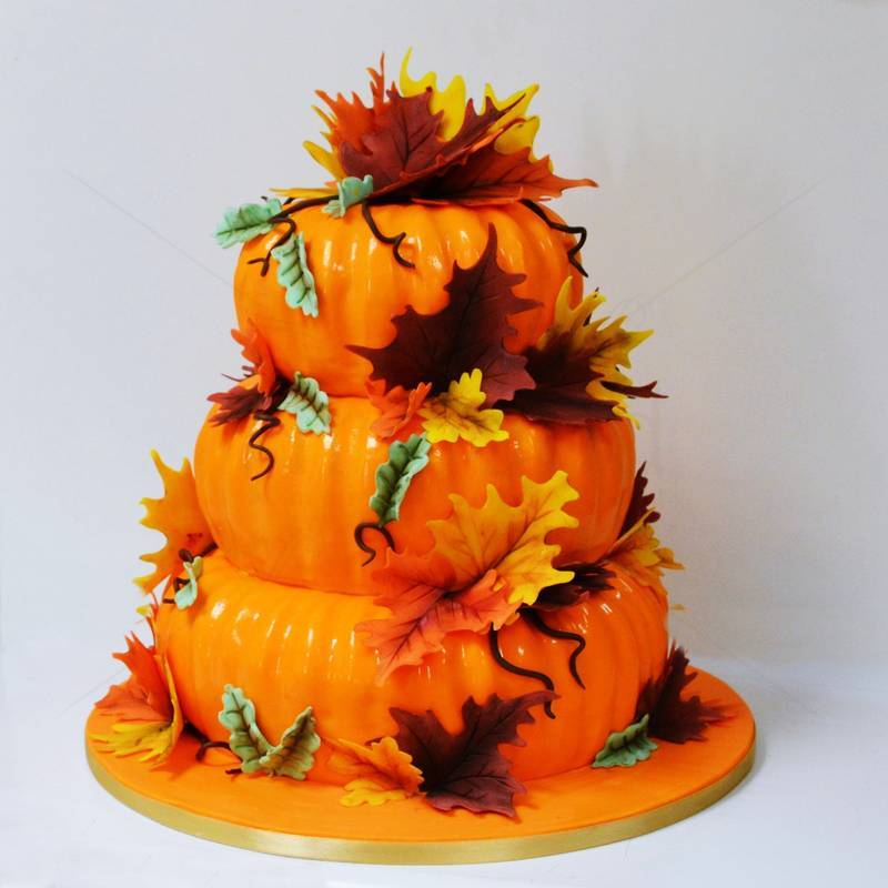 Tort Nunta Toamna - Dovleci