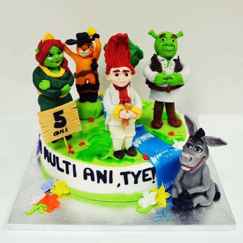 Tort Shrek si prietenii