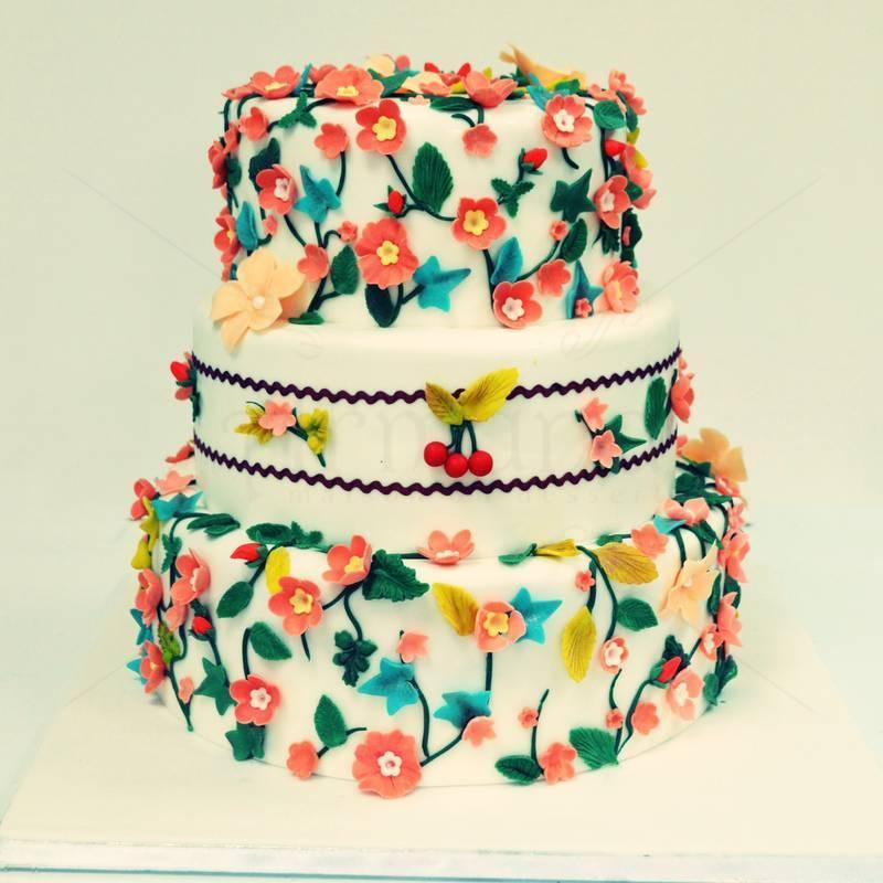 Tort flori de cires - Primavara
