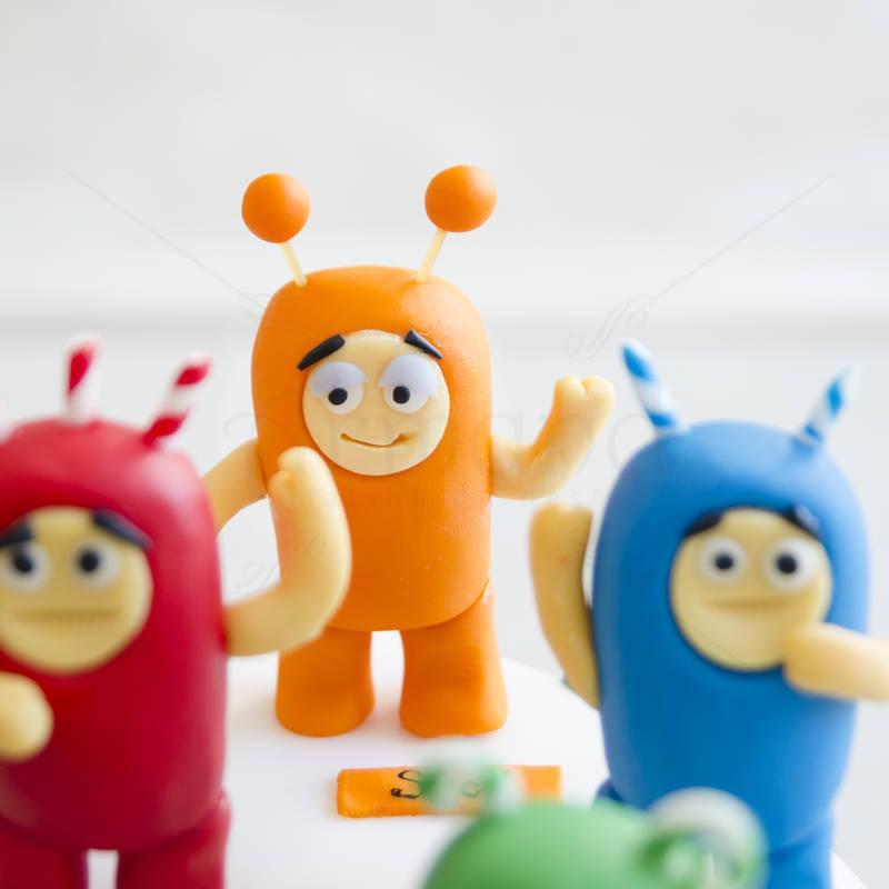 Tort figurine Oddbods