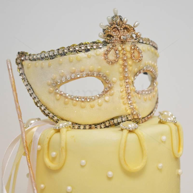 Tort Masca Venetiana - Ivory