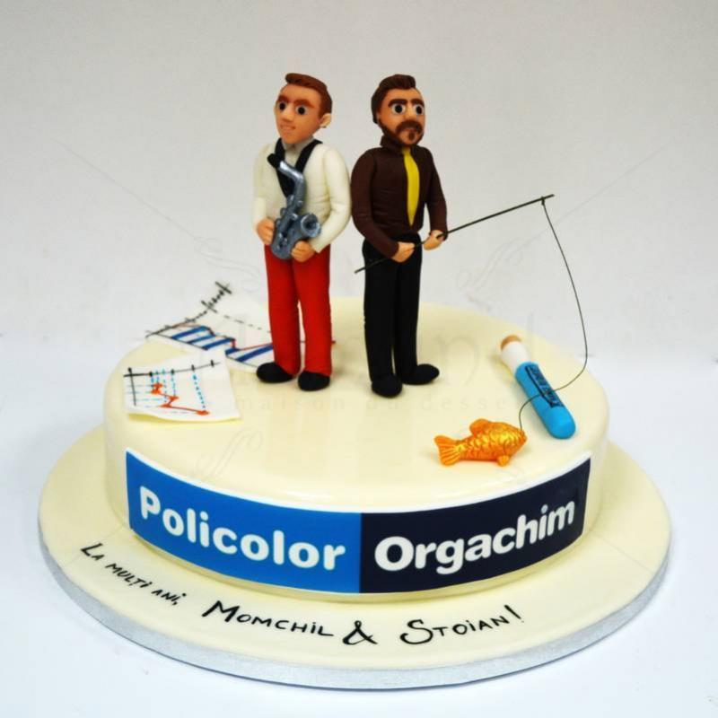 Tort personalizat Policolor-Orgachim