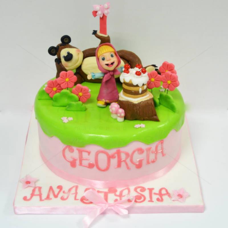Tort Masha si Ursul 3