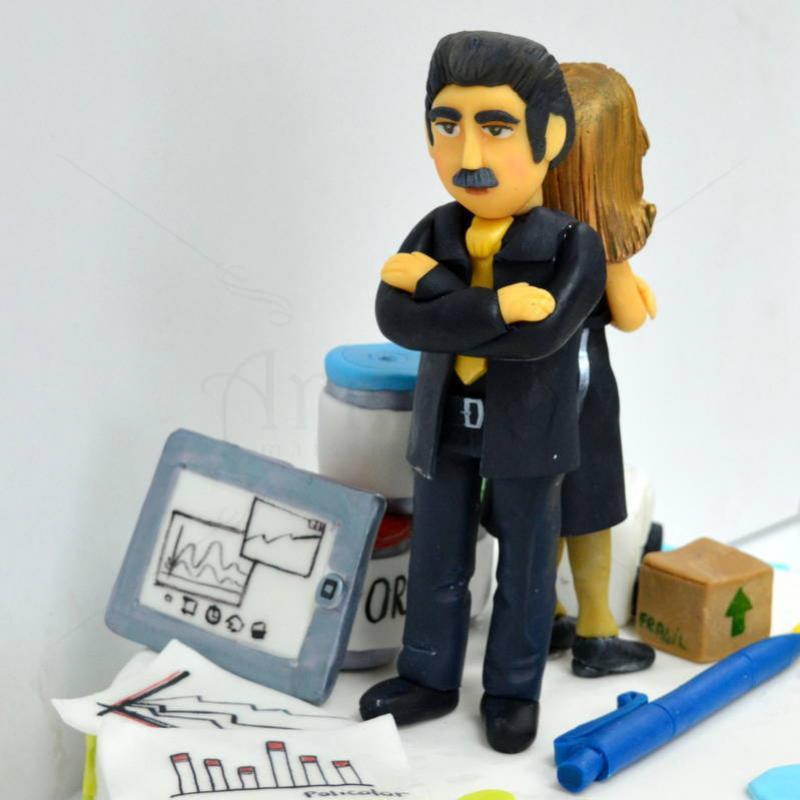 Tort personalizat Stuff Policolor