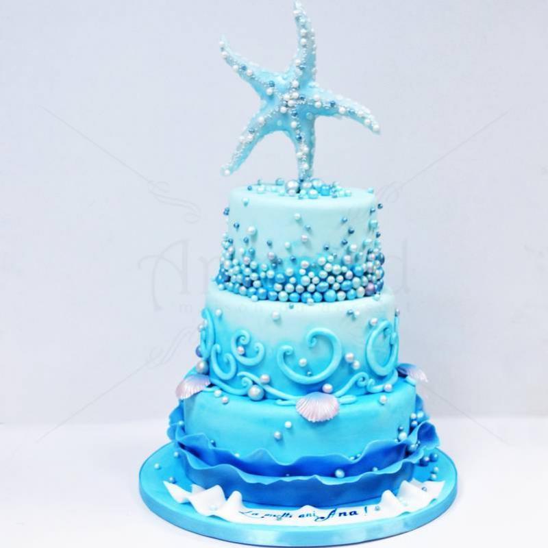 Tort Elegant Steluta de mare