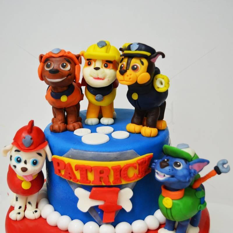 Tort figurine catei Paw Patrol